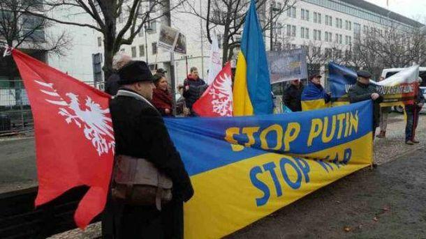 В Берлине призвали остановить агрессию Путина