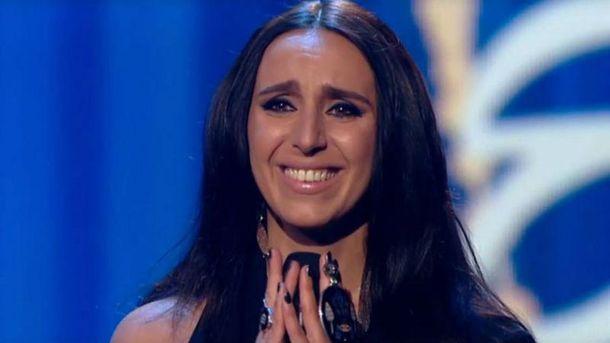 Джамала не сдержала слез