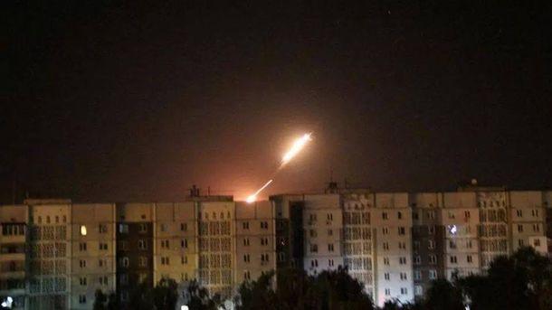 Обстріли з Донецька
