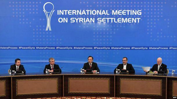 Переговори в Казахстані щодо Сирії
