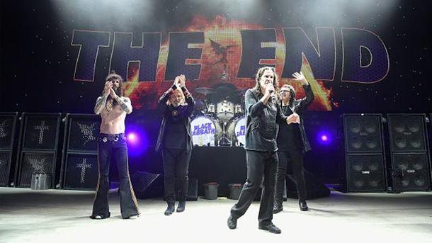 Black Sabbath під час прощального туру The End