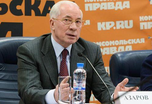 Микола Азаров розповів про свої помилки у 2014 році