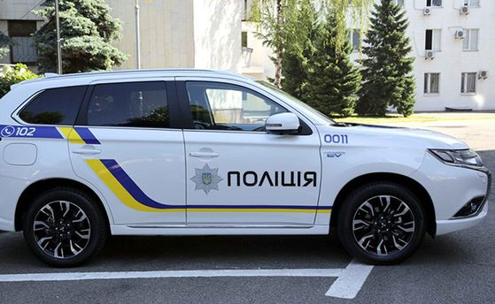 Внедорожник для полиции Mitsubishi Outlander PHEV