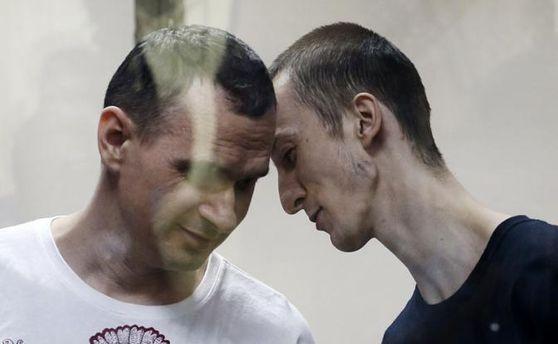 Олег Сенцов и Александр Кольченко в плену РФ