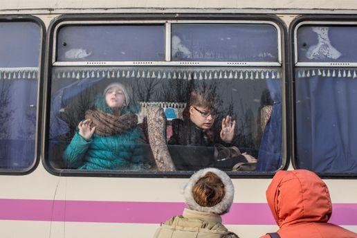 Дети в Авдеевке