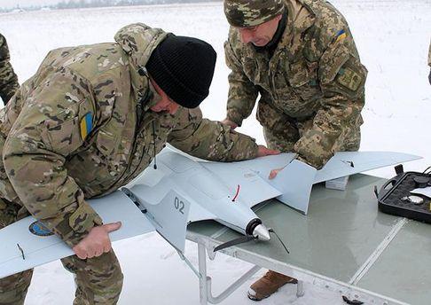 Испытания украинского беспилотника