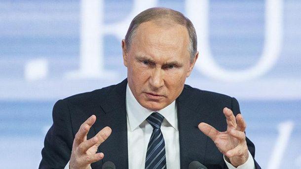 Путину не нравится, когда его откровенно называют убийцей