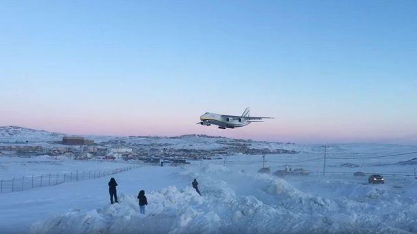 Посадка Ан-124