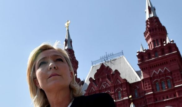Марин Ле Пен в Москве