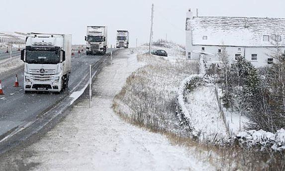 В Киев ограничили въезд грузовикам