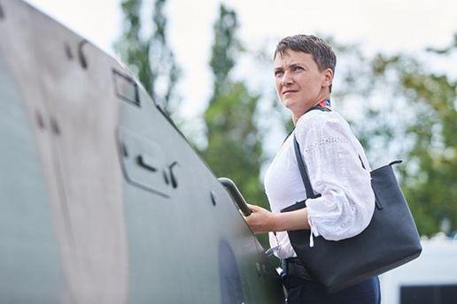 Надежду Савченко не пустили на военный завод