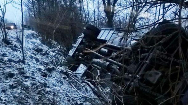 Аварія автобуса на Закарпатті