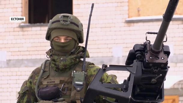 Військові навчання НАТО в Естонії