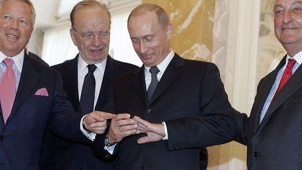 Путин, американские миллиардеры и украденное кольцо