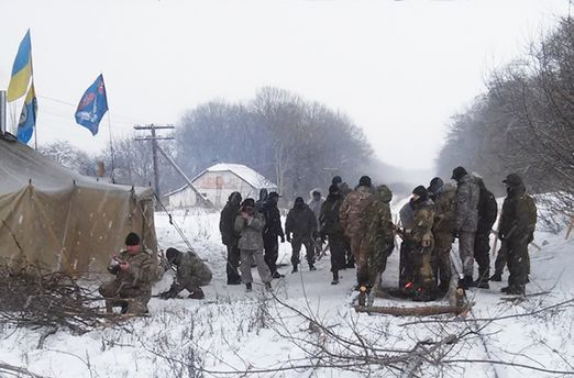 Блокада Донбассе может расшириться на другие ветви железной дороги