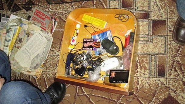 Поплічник терористів збирав інформацію у районі Світлодарської дуги