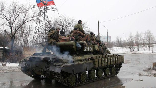 Боевики не прекращают обстреливать Авдеевку