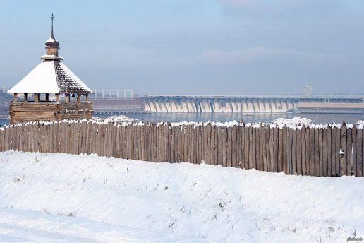 Зимовая Хортица