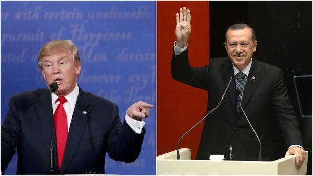Переговоры Трампа и Эрдогана