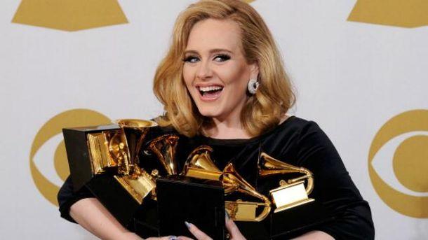 Адель заробила 80,5 млн доларів і отримала не одну нагороду