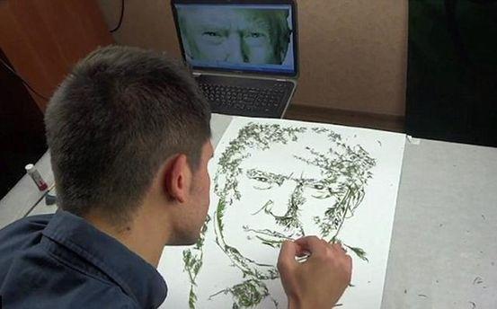 Теперь у Дональда Трампа есть портрет украинского укропа