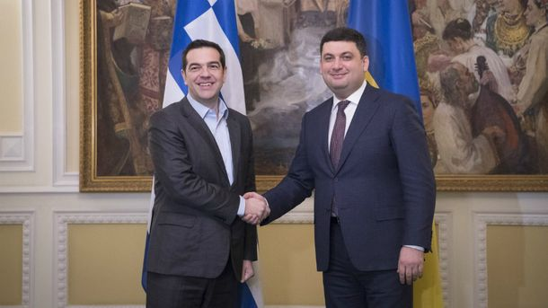 Ципрас вперше з візитом в Україні