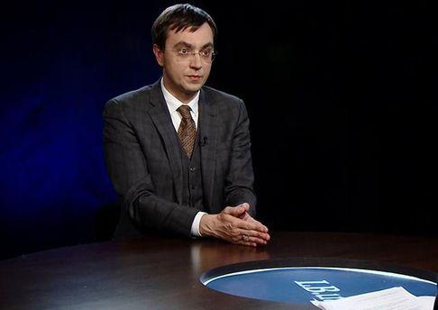 Володимир Омелян мріє очолити ДФС