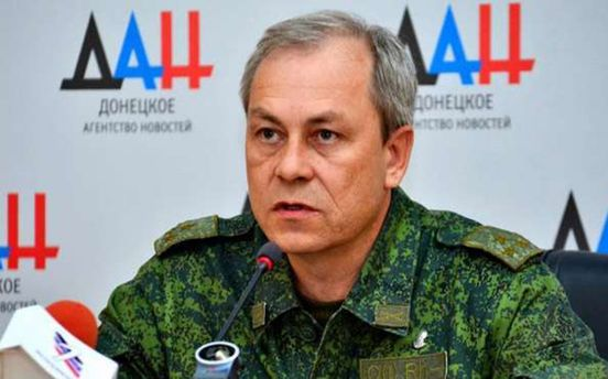Эдуард Басурин утверждает, что боевики