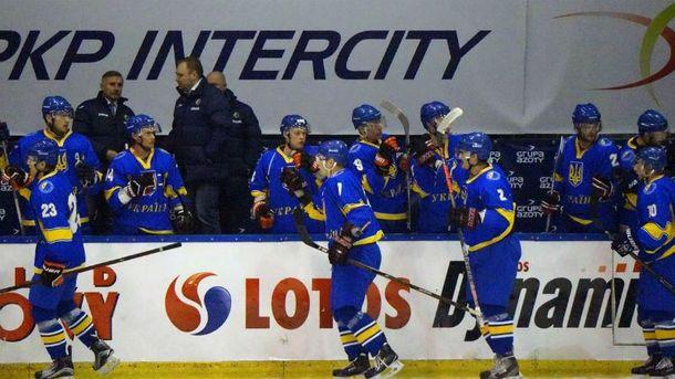 Победа украинских хоккеистов