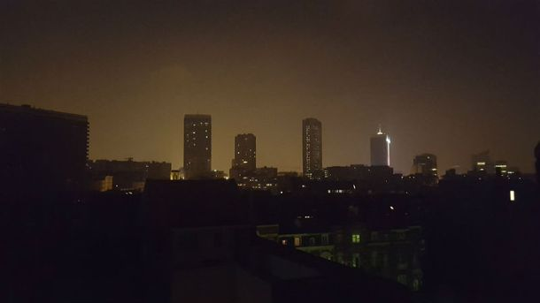 Брюссель без света