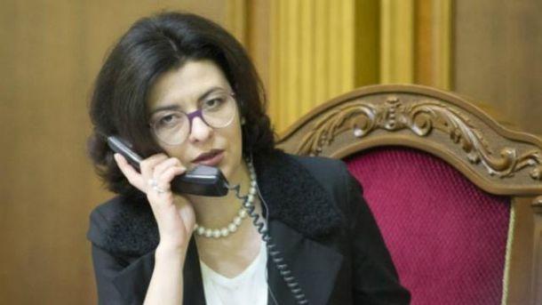 Заседание Совета открыла Оксана Сыроид