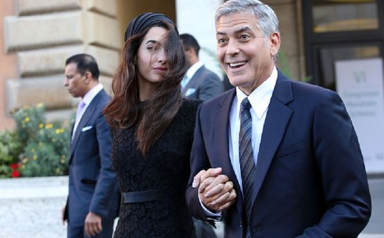 Джордж та Амаль Клуні