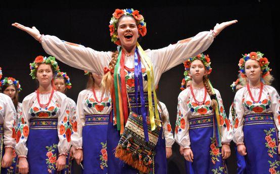 Украинские хористки