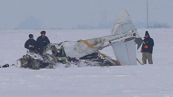 В авіакатастрофі загинуло 2 людей