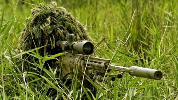 Снайпер террористов
