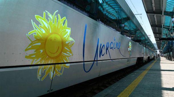 Нові потяги з України