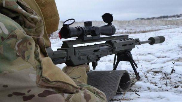На Луганському напрямку працював снайпер