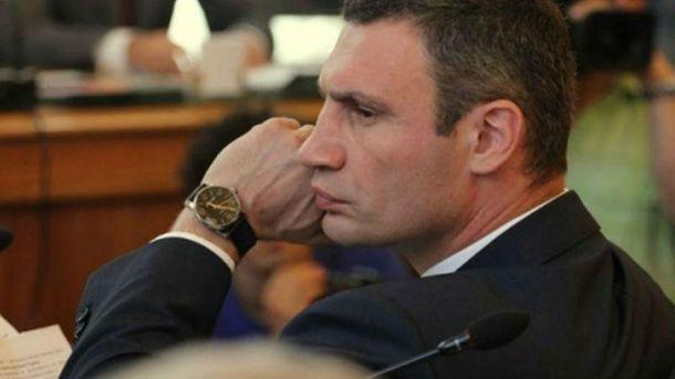 Віталія Кличка покарали через неповагу до суду