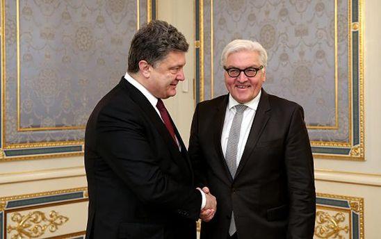 Порошенко привітав Штайнмаєра з обранням на посаду президента Німеччини
