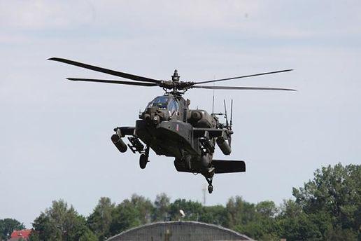Американские вертолеты Apache прибыли в Германию