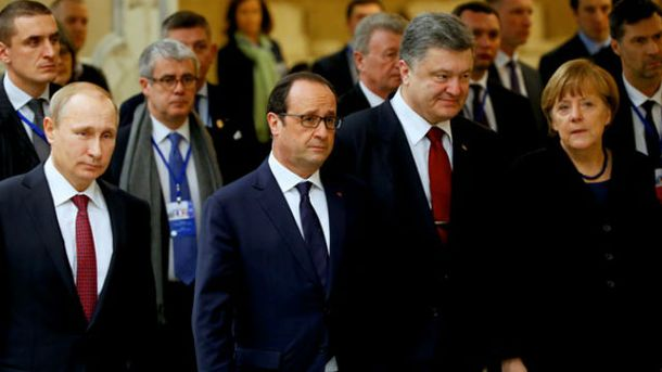 Переговори у Мінську. 13 лютого 2015
