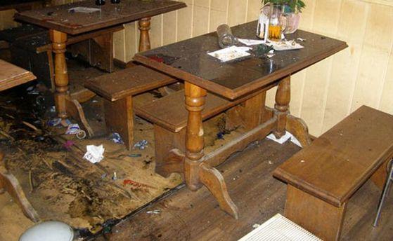 Граната вибухнула в одному з кафе на Рівненщині