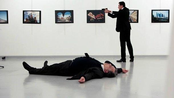 Посол Росії в Туреччині був вбитий на виставці в Анкарі