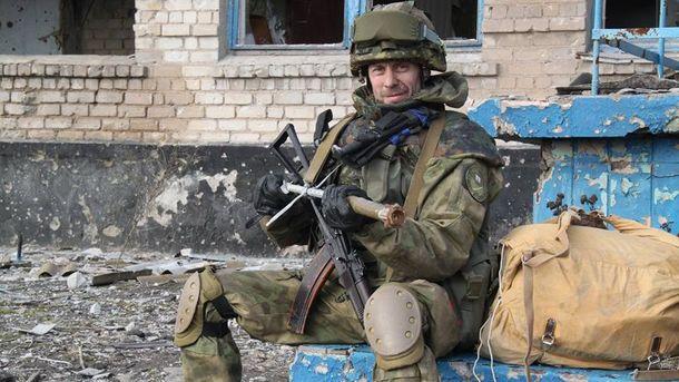 Командир взводу 54-го розвідувального батальйону Руслан Пустовойт