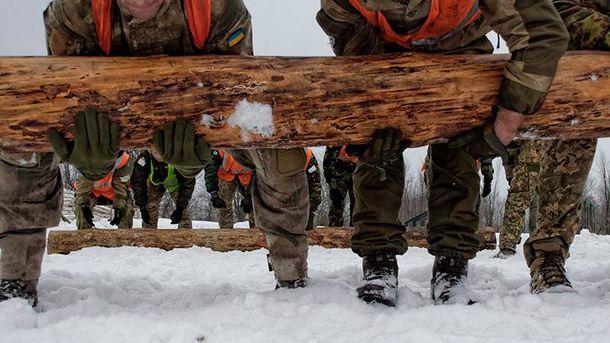 Тренировка бойцов ССО