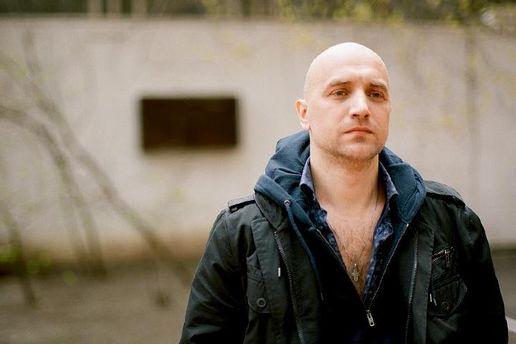 Российский писатель Захар Прилепин, который вступил в ряды боевиков