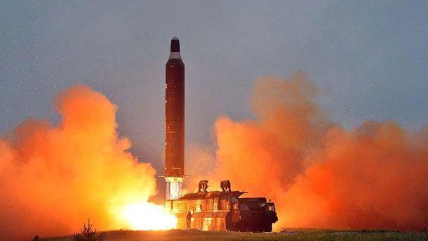 Испытания северокорейских ракет
