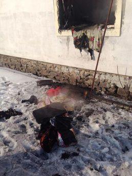 Пожежа у селі Великий Любінь