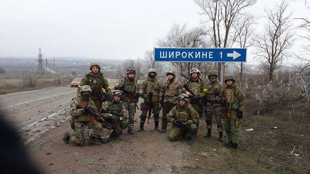 Бойцы подразделения
