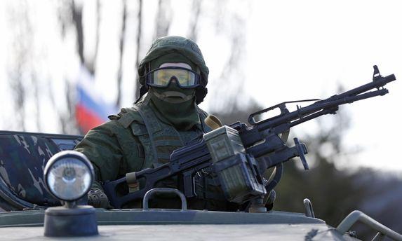 Російський військовослужбоцець